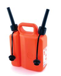 Plastic Combi Fuel Can