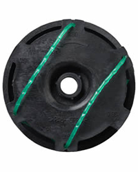 Replacement Flymo double spool and line for the Flymo Samurai 800 / 1000 and 1000XT electric grass trimmers.