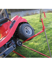 Garden Power Xlift Ride on Lawnmower Side Lift