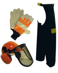 Handy Chain Saw Safety Kit