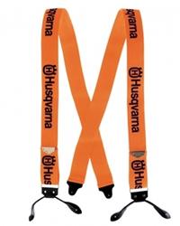 Husqvarna Leather Strap Braces