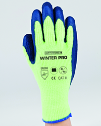 These Northwood Pro Winter Working Gloves are fitted with a fluffy and warm acrylic with a latex coating which gives a safe and anti-slip surface for