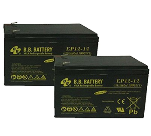 Robomow 12Ah Batteries (Pair) for the RM Robomow Models