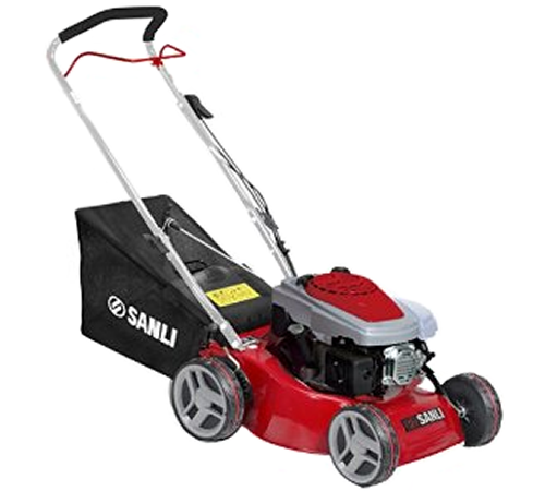 Sanli LS4240 42cm Push Petrol 4 Wheel Lawn mower