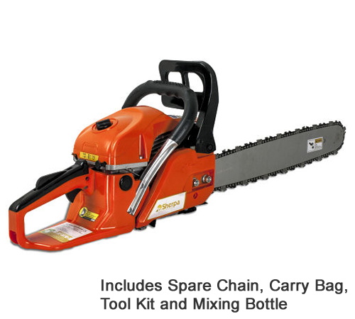 Sherpa CS450018 Petrol Chainsaw Package