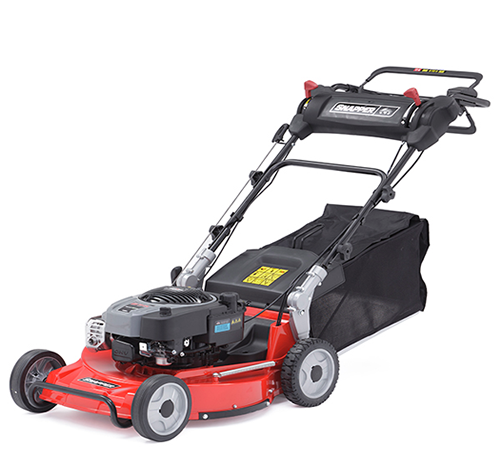 The Snapper NX-50 is the only push rotary lawn mower in the NX series with an 18 inch cutting width. The NX-50 is a 4 wheeled lawnmower which means it