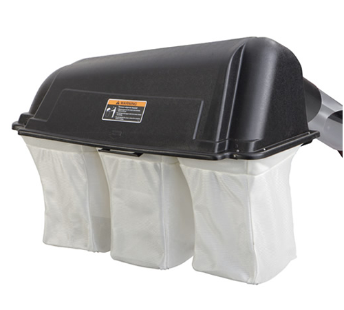 Turn the Snapper ELT 17542 side discharge lawn tractor into a rear collection machine with this 3 bagged grass collector.