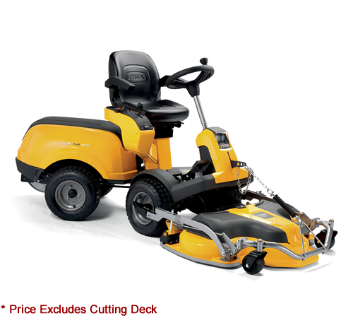 Stiga Park 540 DPX Diesel Out Front Deck Lawn mower