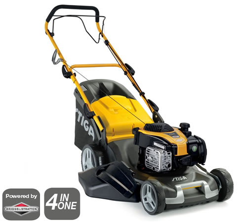 Stiga Combi 50 SQ B Self-Propelled 4-in-1 Petrol Lawn mower