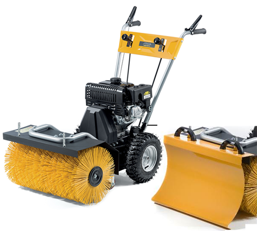 Stiga SWS 800G Self Propelled Sweeper With Snow Blade