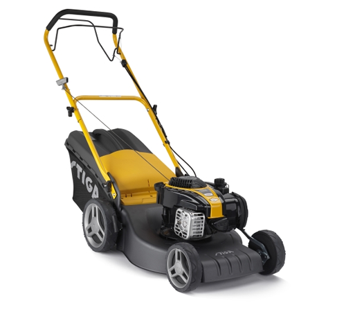 The Stiga Combi 48 SB is a 46cm rotary cut lawn mower with power drive to the rear wheels to take the strain out of mowing your grass. A four wheeled