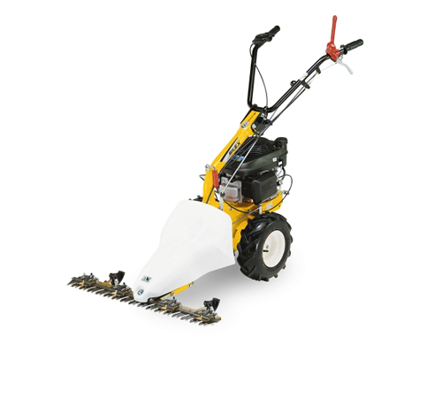 This Stiga Silex scythe or cutter bar mower attachment can be fitted in minutes and is designed for cutting long grass, brambles or light scrub. The 8
