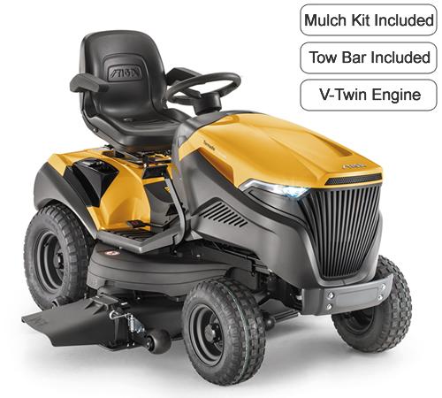 Stiga Tornado 7118 HWS Mulching / Side Discharge Garden Tractor