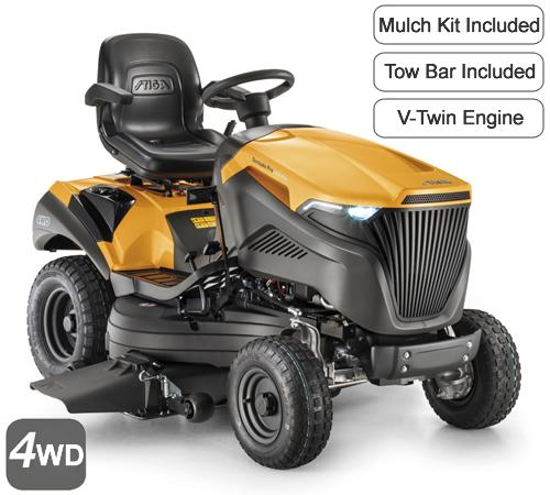 Stiga Tornado Pro 9118 XWSY Mulching / Side Discharge Garden Tractor