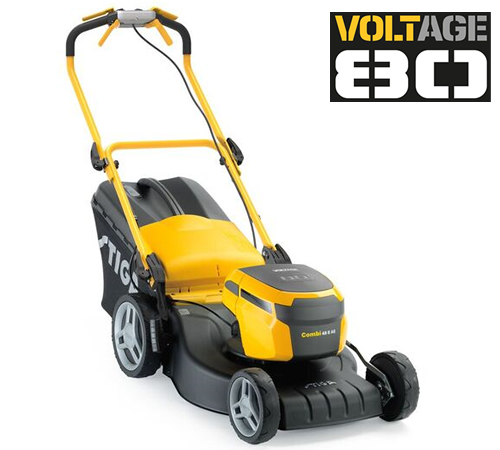 Enjoy the pleasure of mowing your lawn with Stiga's �innovativenew 80 Volt lithium-ion lawnmower. The 80 volt motor delivers comparable powerto a 100c