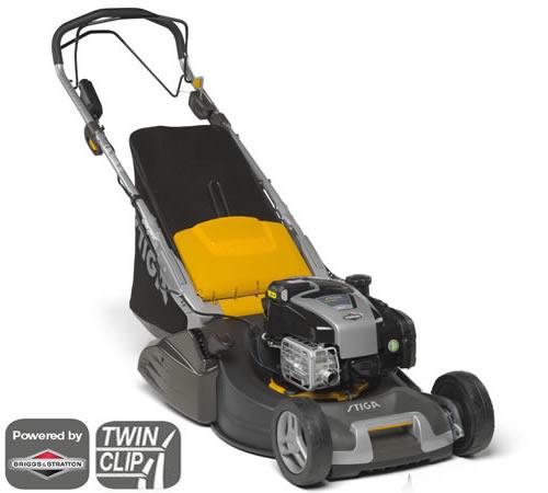 Stiga Twinclip 50 SVE-R B Self-Propelled Petrol Rear Roller Lawnmower