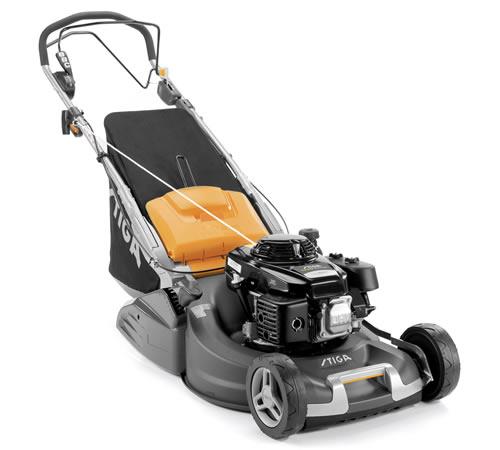 Stiga Twinclip 55 S-R H BBC Self-Propelled Petrol Rear Roller Lawnmower
