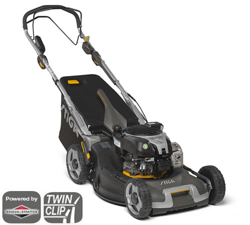 Stiga Twinclip 55 SVEQ B Self-Propelled 4in1 Petrol Lawnmower