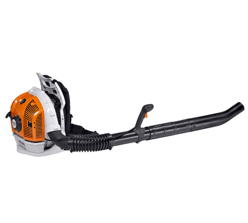 Particularly powerful backpack blower. With very high air throughput for the most extensive cleaning tasks. Excellent anti-vibration system and ergono