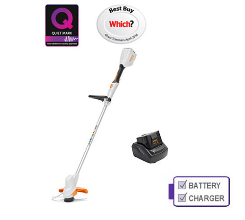Stihl Fsa 56 Cordless Grass Trimmer With Battery And Charger