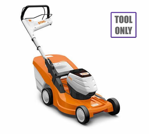 The Stihl RMA 448 TC is largest mower in the Stihl cordless range. It's powered by Stihl's Pro lithium-ion batteries and offers petrol-matching power,