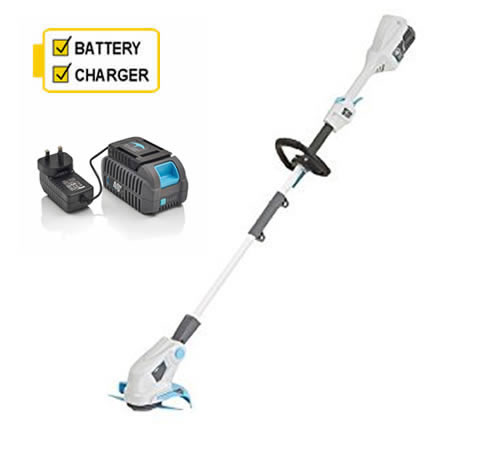 Click to view product details and reviews for Swift Eb310d2 Cordless Grass Trimmer With Battery And Charger.