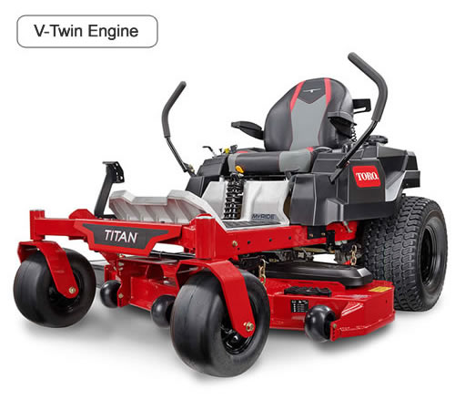 Toro Titan XS4850 MyRide Zero Turn Garden Tractor 74887
