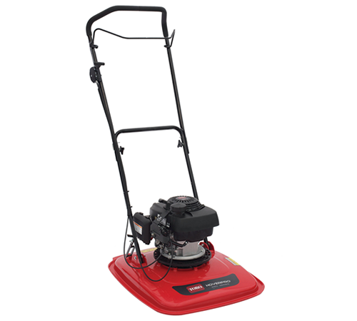 The Toro HoverPro 500 petrol hover mower is powered by a Honda GCV160 engine and features a lightweight but strong ABS injection-moulded deck. This 20