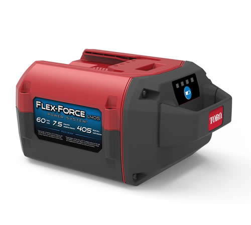 Chargers Toro Flex-Force 60v 7.5Ah 405 Wh Lithium-ion Battery