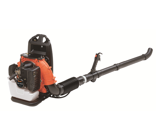 Tanaka TBL 4600 back pack garden and debris blower. The Tanaka TBL-4600 is powered by a 44cc 2 stroke petrol engine with a maximum power output of 2.