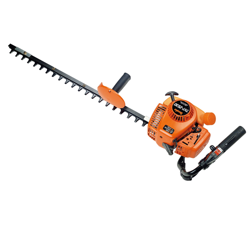 The Tanaka THT-253 hedge trimmer has a single 30 inch / 760mm blade and 24cc 2 stroke petrol engine. The THT 2530 is a light weight (5. 2kg) machine i