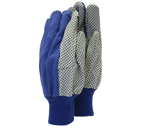 Town & Country TGL404 canvas cotton gloves with PVC grip dots on the palm and forefingers. The one size canvas grip gloves provide a great, comfortabl
