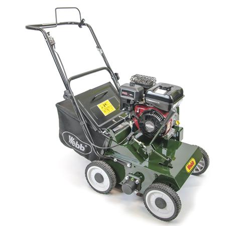 Webb LS38 Push Petrol Lawn Scarifier