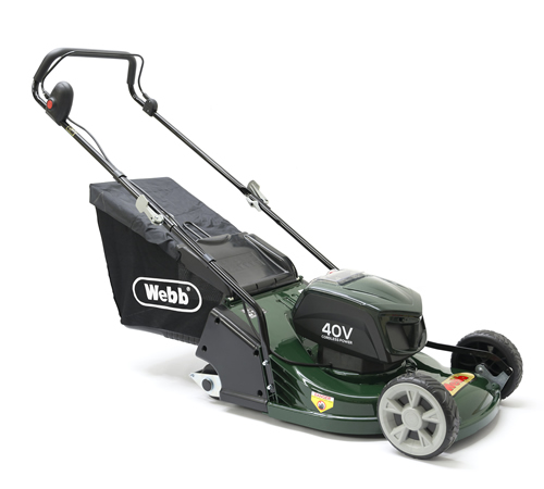 Webb Supreme RR17LIP Cordless Rear Roller Lawnmower