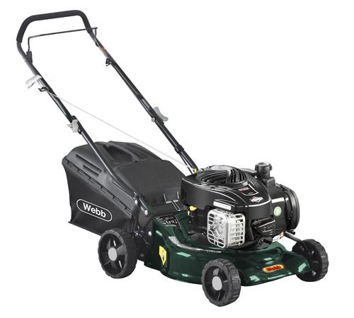 Webb Supreme R16HP 4 Wheel Push Petrol Lawnmower