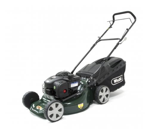Webb Supreme R18HP 4 Wheel Push Petrol Lawnmower