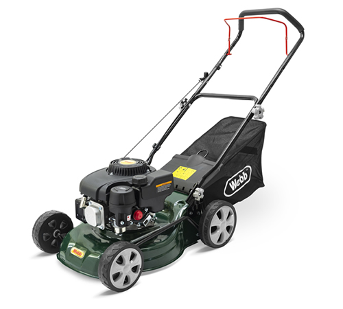 Webb R410SP Self-Propelled Petrol 4 Wheel Lawn mower