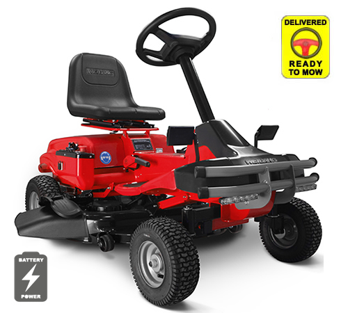 Weibang iON 76 SD Mulching Battery Ride On Lawnmower
