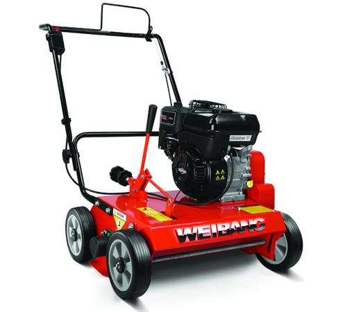 Weibang WB486CRB HandPropelled Petrol Lawn Scarifier