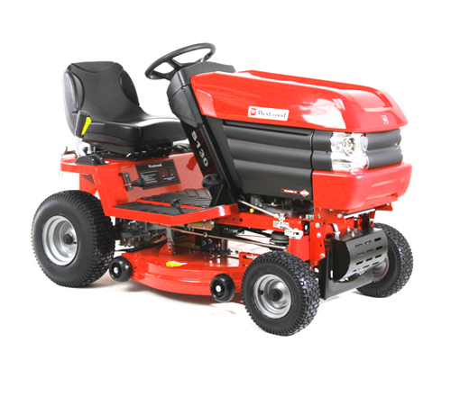 Westwood S150H Mini Garden Tractor with 30 Inch Combi Deck